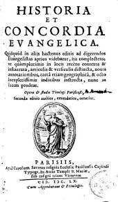 Historia et concordia evangelica