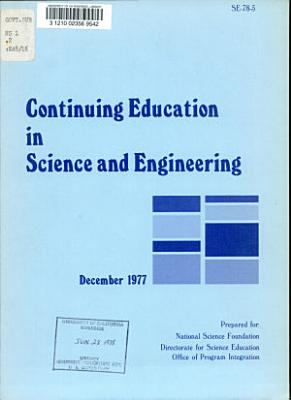 Continuing Education in Science and Engineering PDF