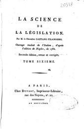 La science de la Législation