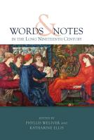 Words and Notes in the Long Nineteenth Century PDF