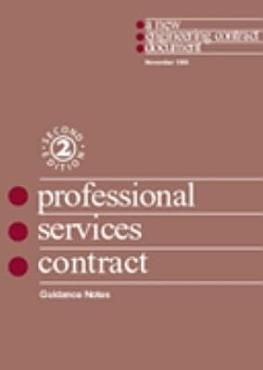 Guidance Notes and Flow Charts for the Professional Services Contract PDF
