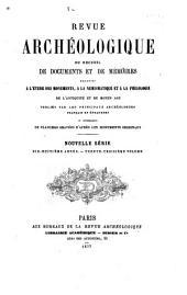 Revue archéologique: Volume33