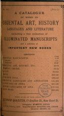 A Catalogue of ... [books] ...