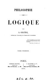 Philosophie. Logique: Volume1