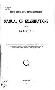 Manual of Examinations for the     PDF