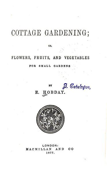 Cottage Gardening PDF