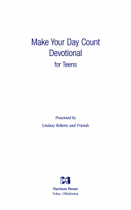 Make Your Day Count Devotional for Teens PDF