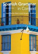 Spanish Grammar in Context PDF