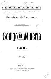 Código de minería 1906