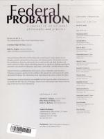 Federal Probation PDF