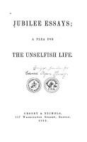 Jubilee Essays PDF
