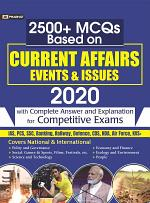 2500+ MCQs BASED ON CURRENT AFFAIRS EVENTS & ISSUES 2020