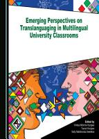Emerging Perspectives on Translanguaging in Multilingual University Classrooms PDF