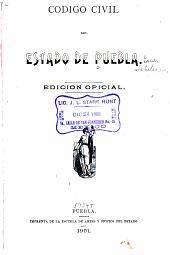 Código civil del Estado de Puebla