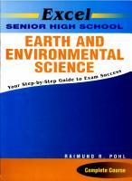 Excel Senior High School Earth and Environmental Science PDF