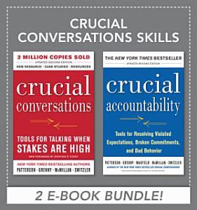 Crucial Conversations Skills Book