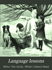 Language Lessons: A First Book in English, Book 1
