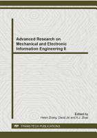 Advanced Research on Mechanical and Electronic Information Engineering II PDF