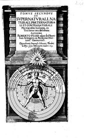 De Supernaturali, Naturali, Praeternaturali Et Contranaturali Microcosmi historia