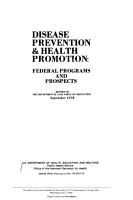 Disease Prevention   Health Promotion PDF