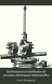 Instruments et méthodes de mesures électriques industrielles