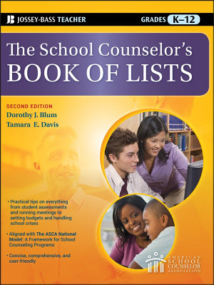 The School Counselor s Book of Lists