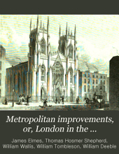 Metropolitan Improvements; Or, London in the Nineteenth Century: Displayed in a Series of Engravings of the New Buildings, Improvement, Etc