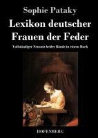 Lexikon deutscher Frauen der Feder PDF