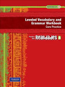 Realidades Leveled Vocabulary and Grmr Workbook  Core   Guided Practice Level a Copyright 2011