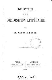 Du style et de la composition littéraire