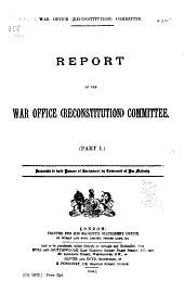 Report ...: Presented to Both Houses of Parliament by Command of His Majesty, Volumes 1-3