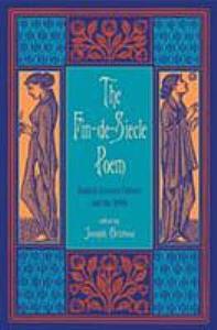 The Fin de si  cle Poem PDF