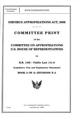 Omnibus Appropriations Act  2009  Division F  Departments of Labor  Health and Human Services  and Education  and Related Agencies Appropriations Act  2009