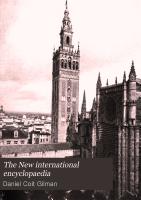 The New International Encyclopaedia PDF