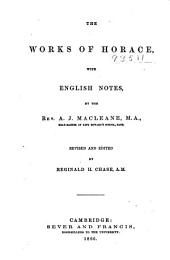The Works of Horace: With English Notes