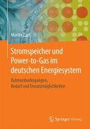 Stromspeicher und Power to Gas im deutschen Energiesystem PDF
