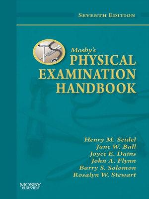 Mosby's Physical Examination Handbook - E-Book