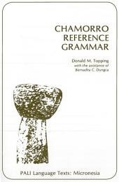 Chamorro Reference Grammar