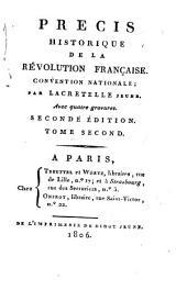 Précis historique de la révolution française: convention nationale, Volume2