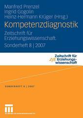 Kompetenzdiagnostik: Zeitschrift für Erziehungswissenschaft. Sonderheft 8 | 2007