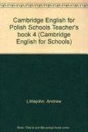 Cambridge English for Polish Schools Teacher's