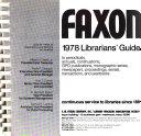 Faxon     Librarians  Guide PDF