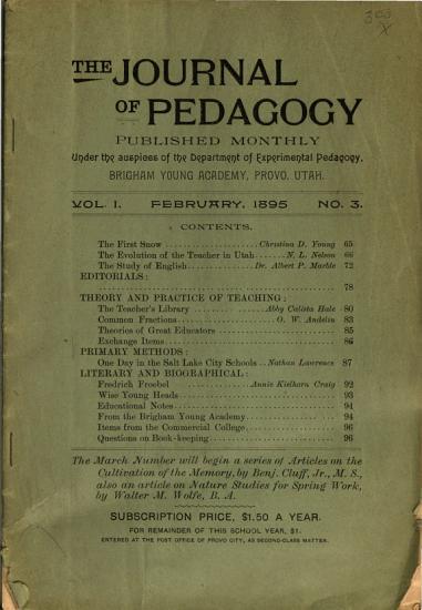 The Journal of Pedagogy PDF