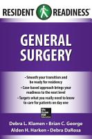 Resident Readiness General Surgery PDF
