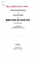 Proceedings and Collections; 1919