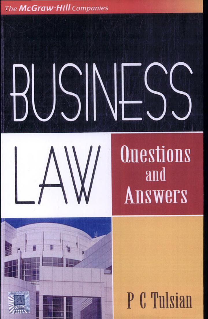 Business Law - Question And Answers