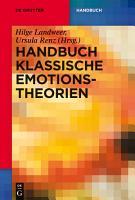 Handbuch Klassische Emotionstheorien PDF
