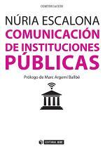 Comunicación de instituciones públicas