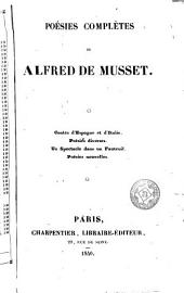 Poésies complètes de Alfred de Musset