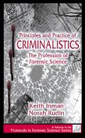 Principles and Practice of Criminalistics PDF